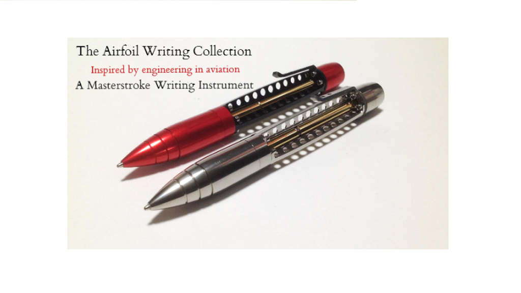 Airfoil: The Aviation Inspired Twist Pen project video thumbnail