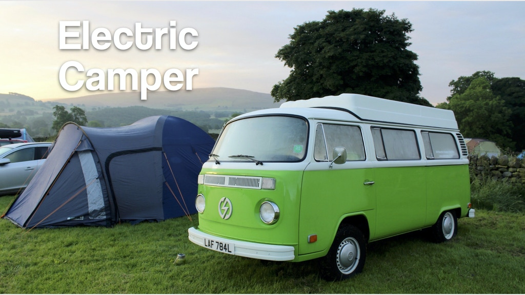 edubs all electric camper van hire by kit lacey kickstarter. Black Bedroom Furniture Sets. Home Design Ideas