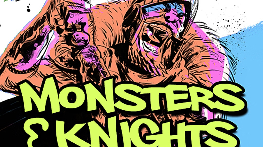 Monsters & Knights card game project video thumbnail