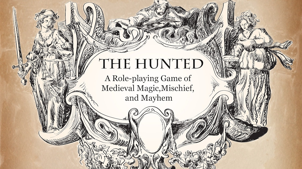 The Hunted: A Game of Medieval Magic, Mischief, and Mayhem project video thumbnail