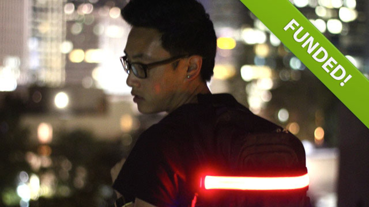 Halo Belt 2.0 is the perfect bright and rechargeable safety device for runners, cyclists, and much more.