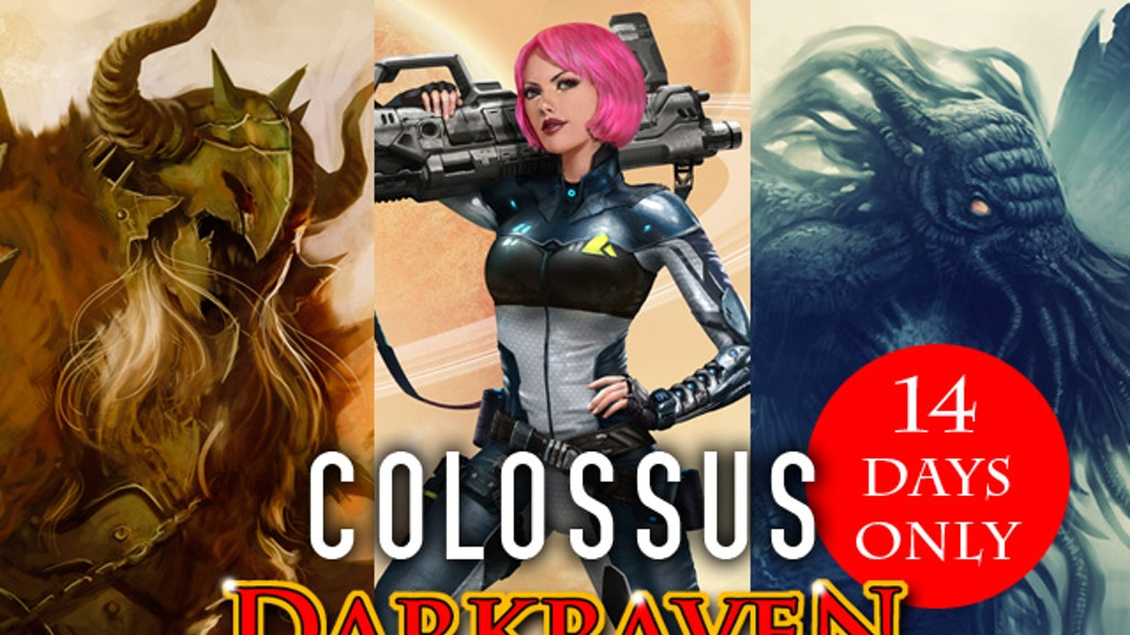 """Darkraven Soundscapes - """"Colossus"""" Edition project video thumbnail"""