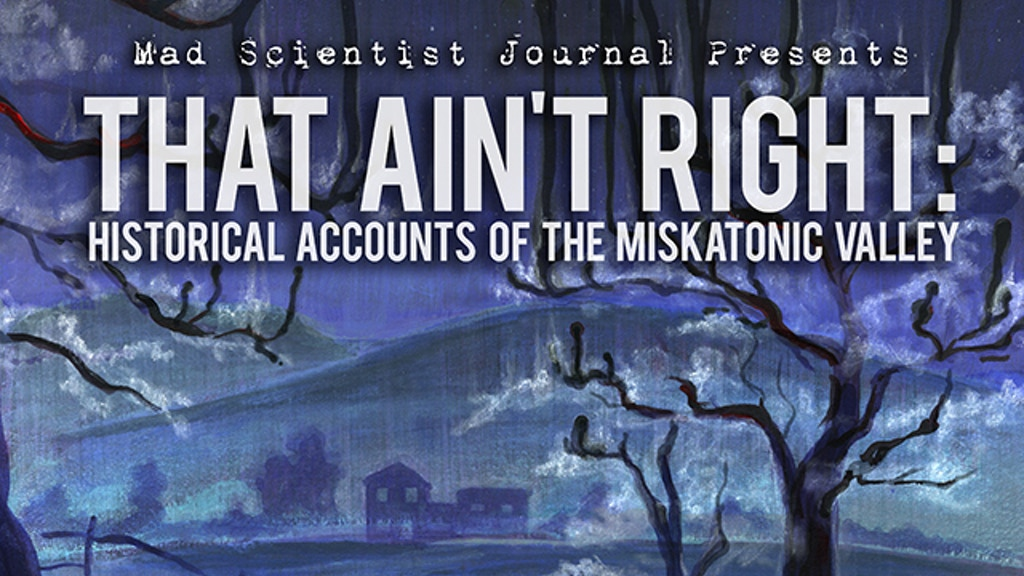 That Ain't Right - A Lovecraft Themed Anthology project video thumbnail
