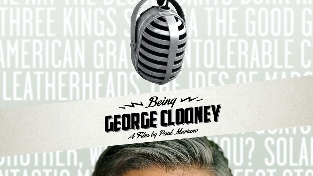 Being George Clooney project video thumbnail