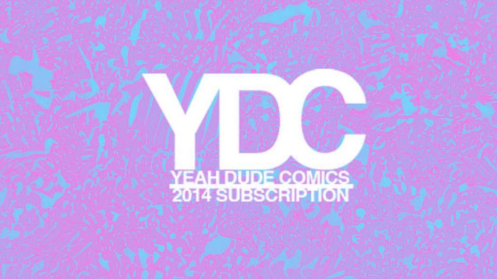 Yeah Dude Comics 2014 Subscription project video thumbnail