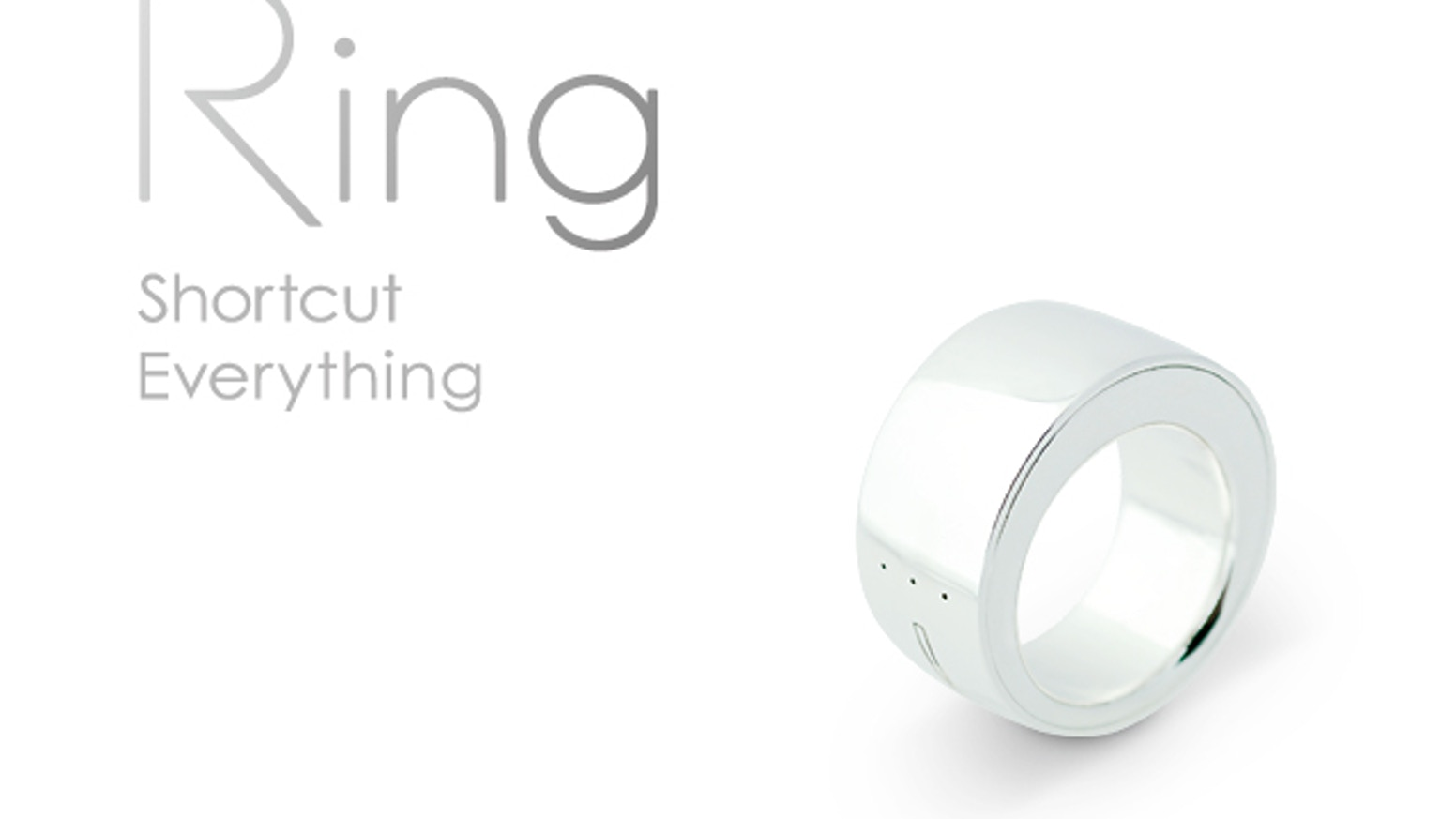 Ring : Shortcut Everything  by Logbar inc  — Kickstarter