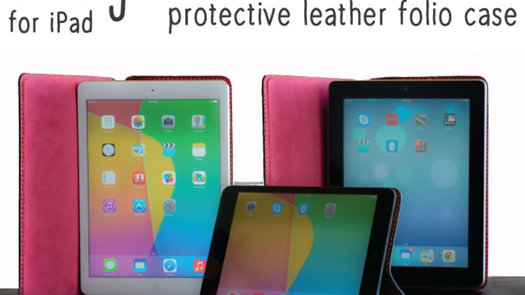 HEMING - Slim & elegant hand-stitched leather case. For iPad project video thumbnail