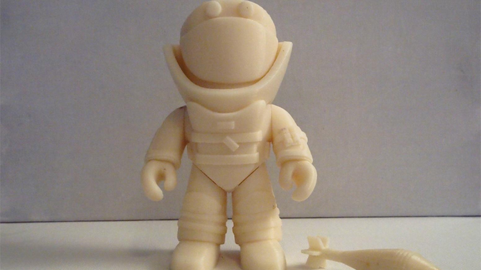 3d Printed Bomb Suit Figure Eod By Benjamin Summerfield Kickstarter