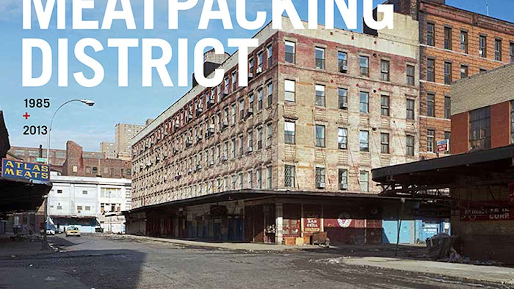 Metamorphosis - Meatpacking District 1985 + 2013 project video thumbnail