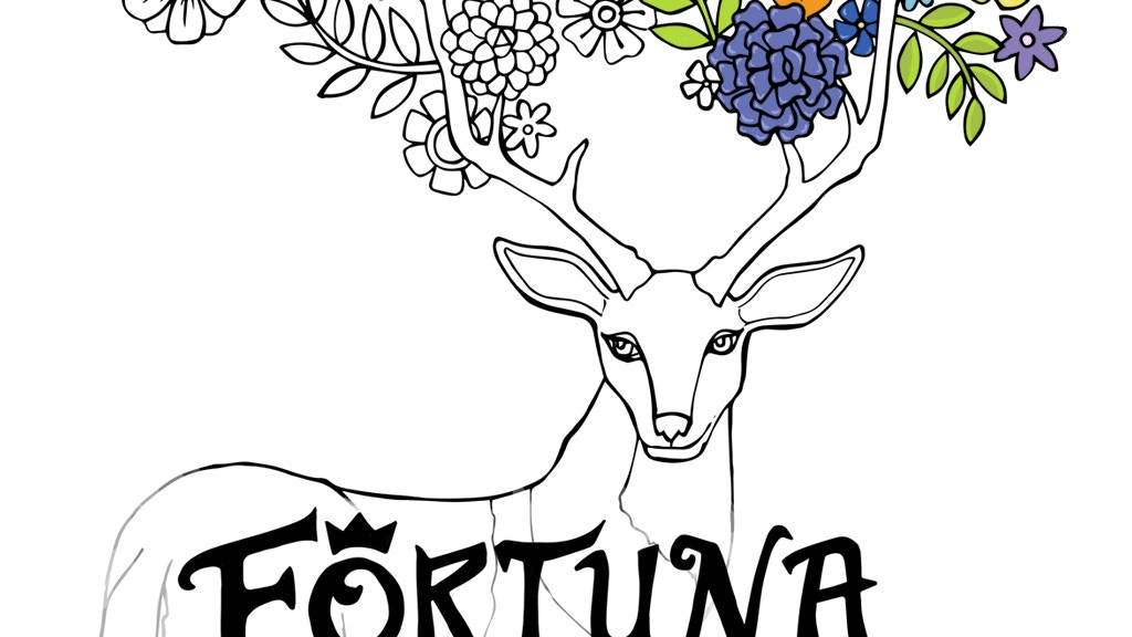 Fortuna, the Coloring Book for Adults by Jennevieve Schlemmer ...
