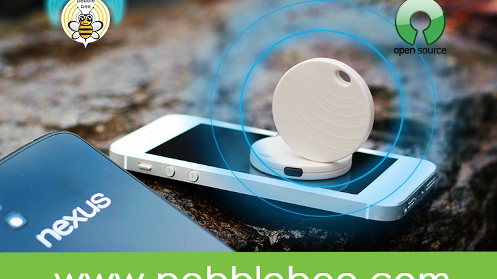 PebbleBee - The Most Affordable iOS/Android Bluetooth Device project video thumbnail