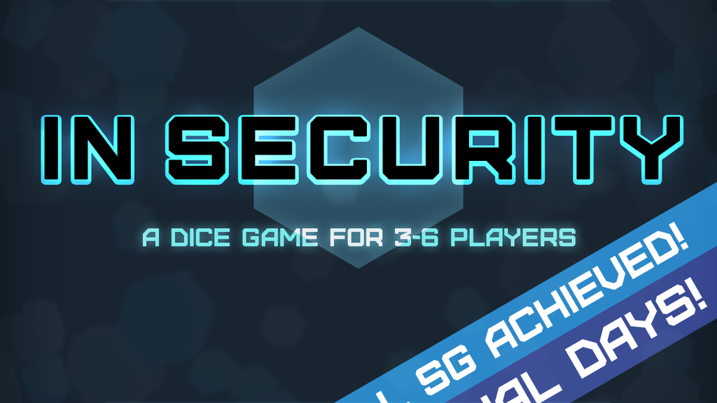 IN SECURITY: roll, hack, get promoted! Starting at just £2. project video thumbnail