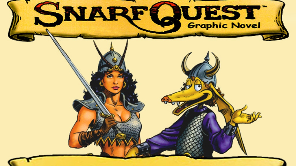 SnarfQuest 30th Anniversary Remastered Graphic Novel project video thumbnail