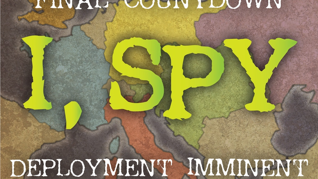 I, Spy – A Game of Manipulation, Misdirection and Mendacity project video thumbnail
