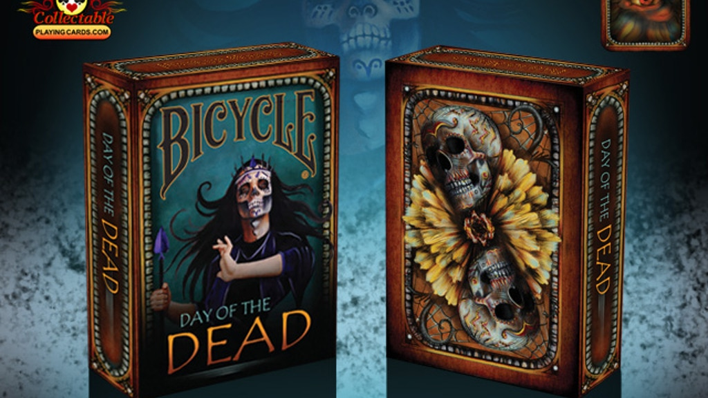 Project image for Bicycle Day of The Dead Playing Cards