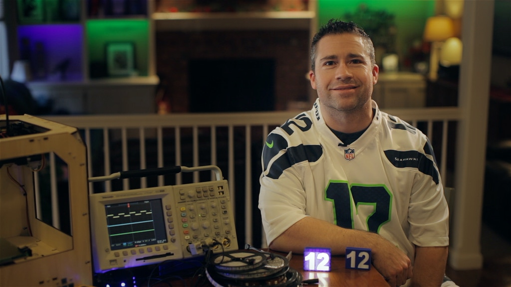 Shine12! Bright LED Light Badges to support Seattle Seahawks project video thumbnail