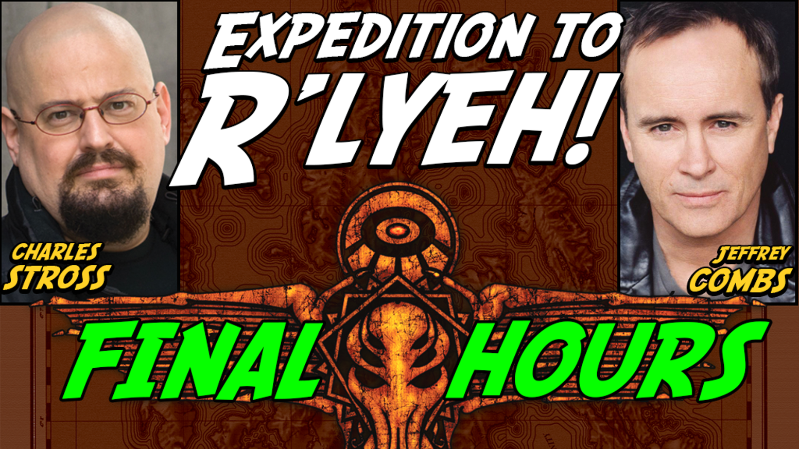 Head to R'lyeh to get unique Cthulhu & Miskatonic U artifacts for the 20th H.P. Lovecraft Film Fest & CthulhuCon - Portland OR, Oct 2-4