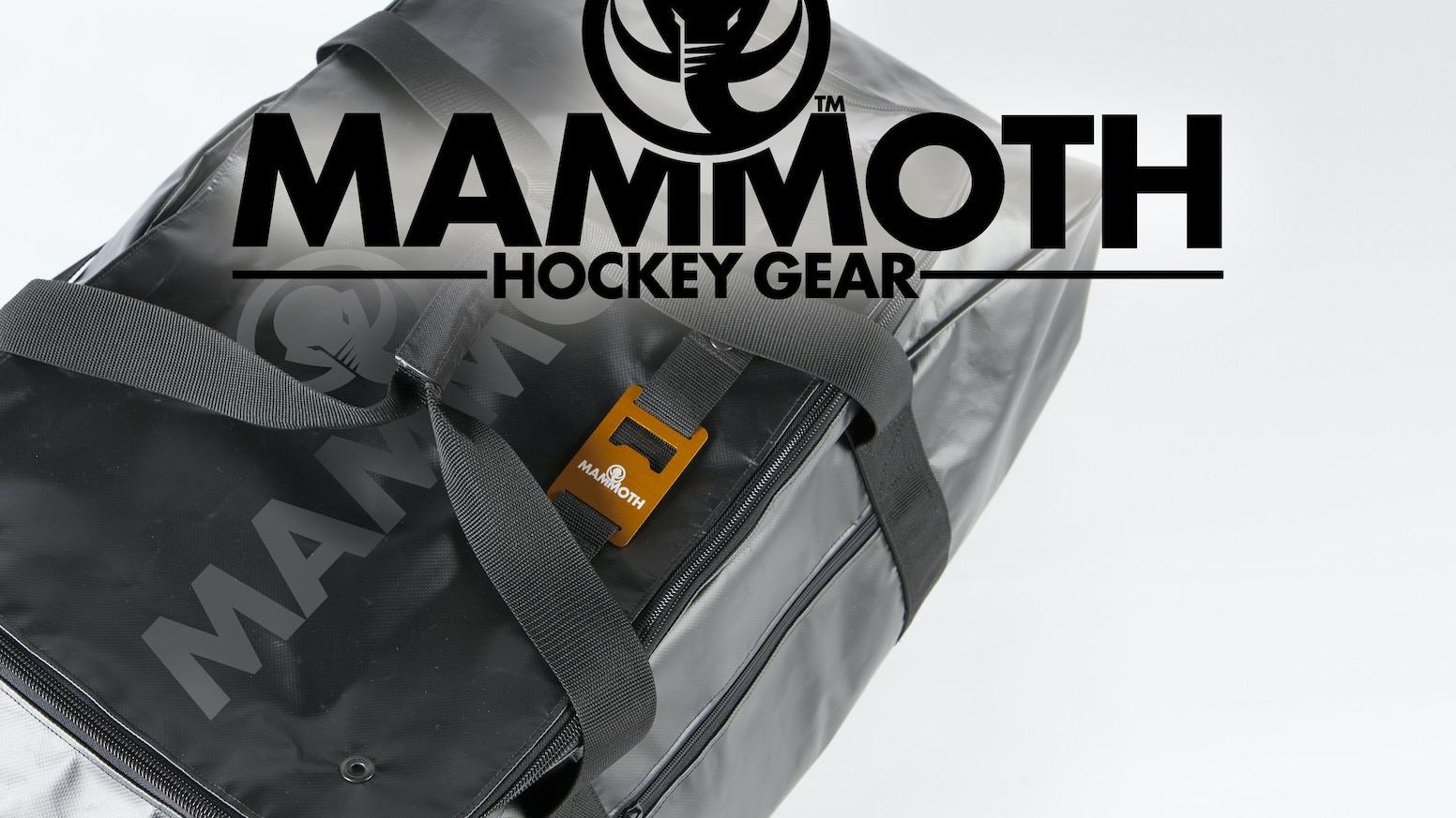 b16d7bb34ffe Mammoth Hockey Bags by Erik Olson and Lars Huschke — Kickstarter