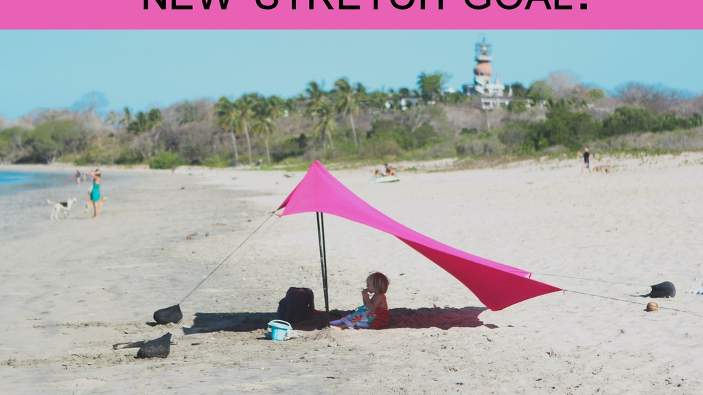 Neso Tents for Sunshade at the Beach - Patent Pending project video thumbnail
