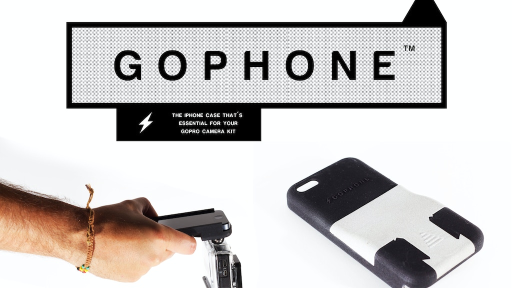 GoPhone: The iPhone case essential for your GoPro camera kit project video thumbnail