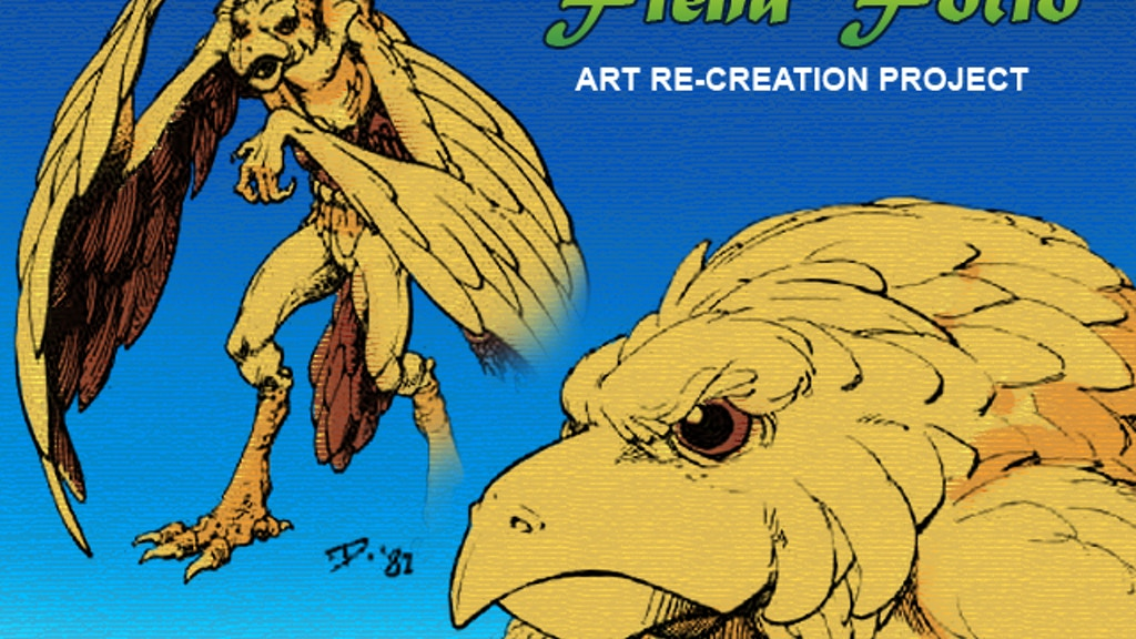 Re-Creating my Art from the AD&D Fiend Folio project video thumbnail