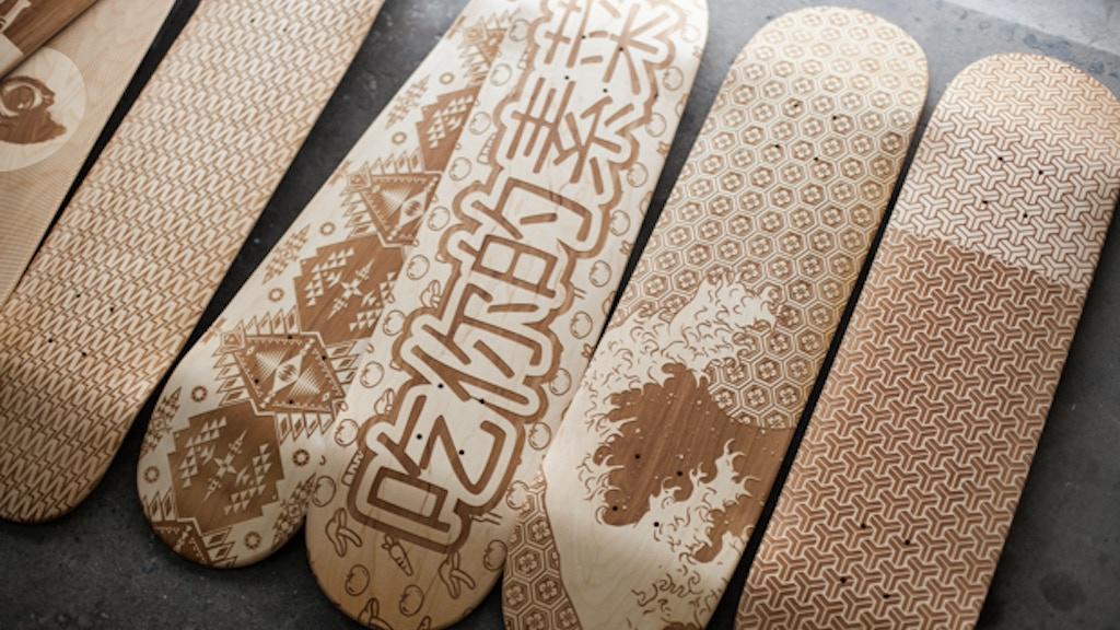 Laser Engraved Skate Decks project video thumbnail