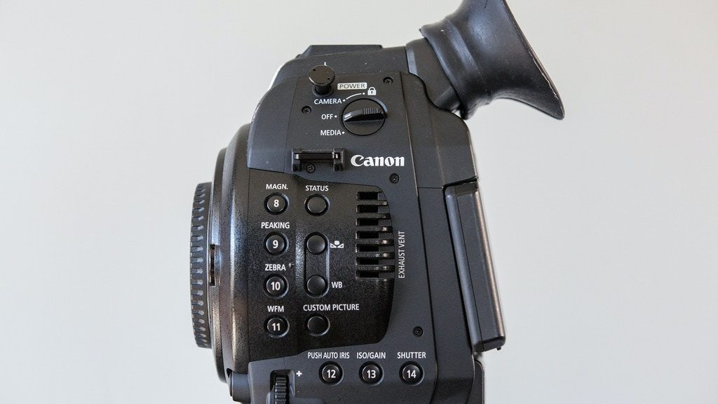 C-Cup: Improving the Viewfinder of the Canon C100 project video thumbnail