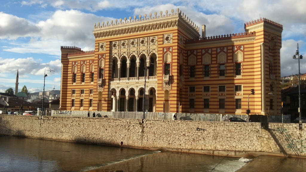 Sarajevo City Hall: Building, Destruction and Revival project video thumbnail