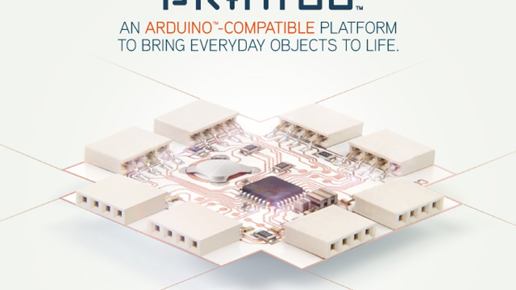 Printoo: Paper-Thin, Flexible Arduino™-Compatible modules! project video thumbnail