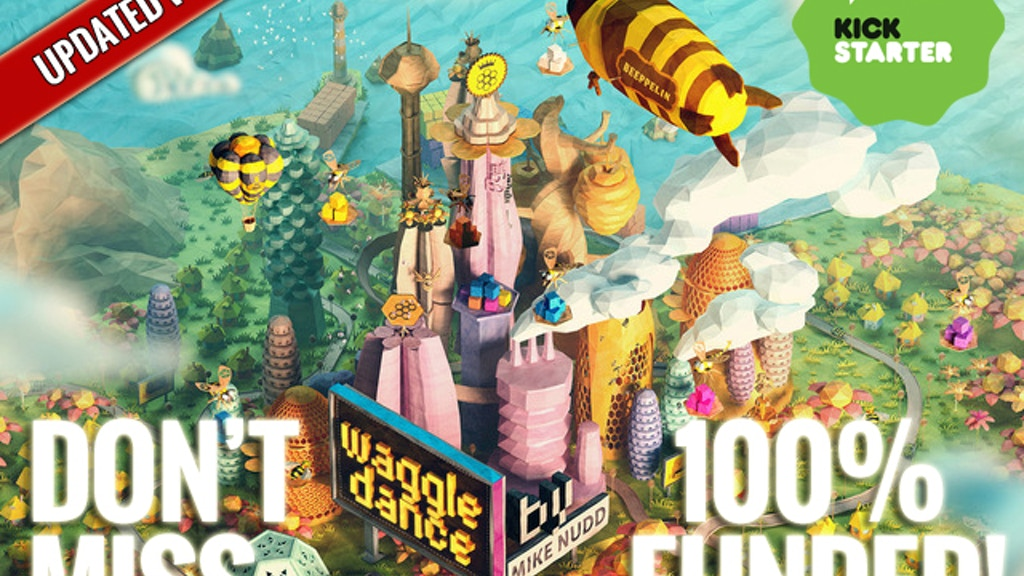 Waggle Dance: a strategic board game of dice, bees and honey project video thumbnail