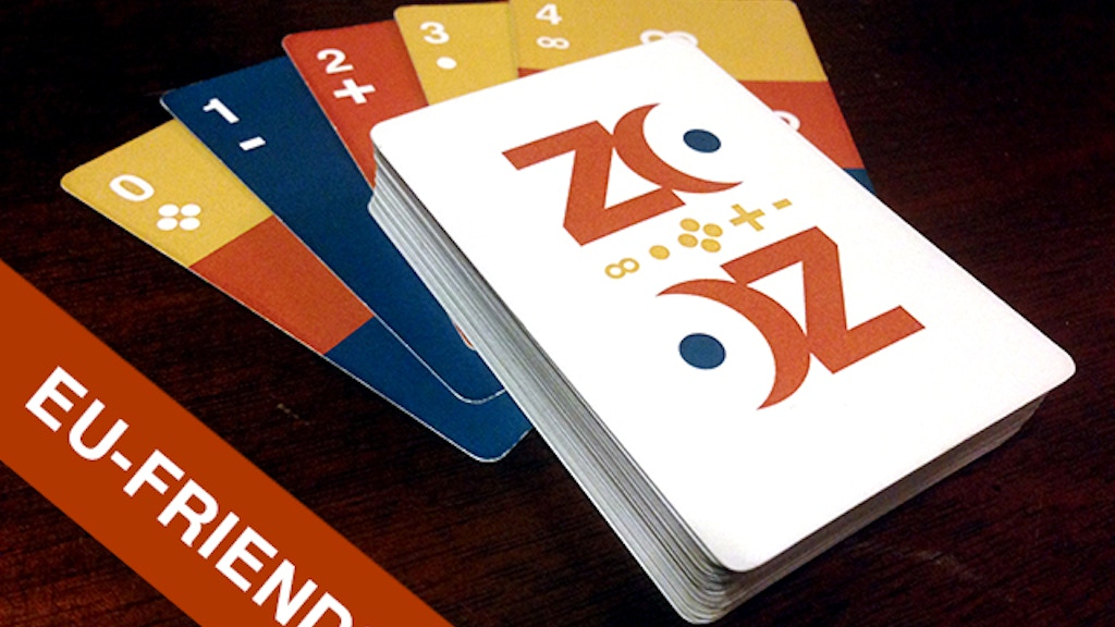 THE ZONT DECK : A new world of card games. project video thumbnail