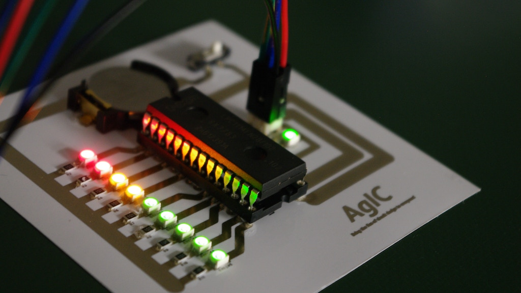 AgIC Print - Printing circuit boards with home printers project video thumbnail