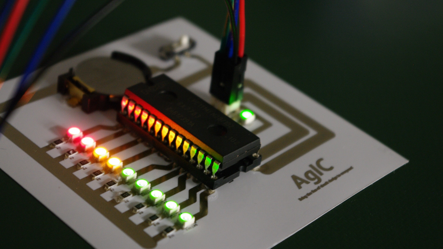 AgIC Print - Printing circuit boards with home printers by ... on