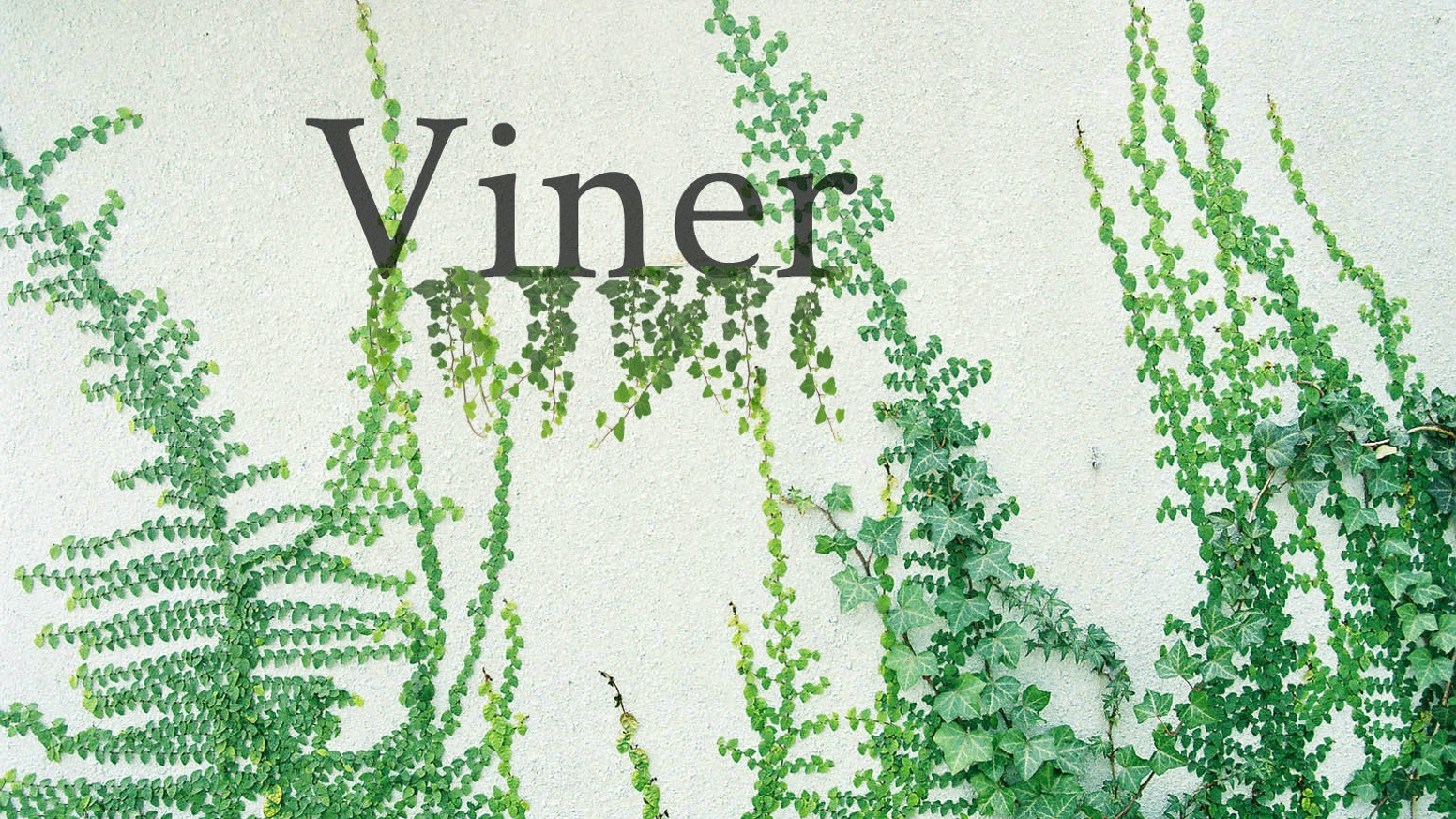 VINER a Documentary by Donna Brown and Allie Helms — Kickstarter