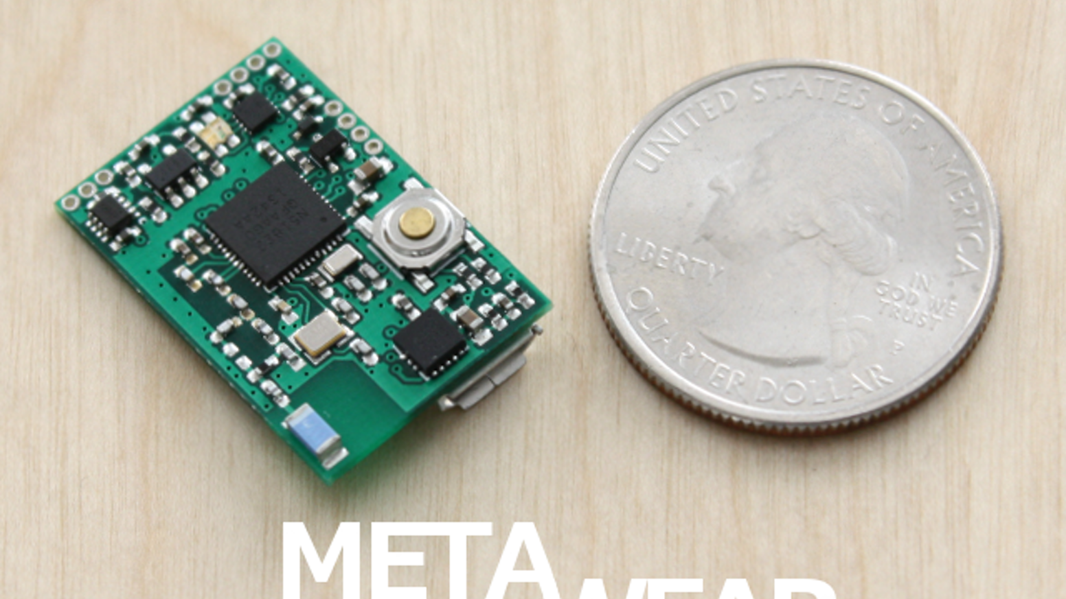 A tiny and powerful ARM Bluetooth LE Platform for developing Wearable Sensor products and quick prototyping