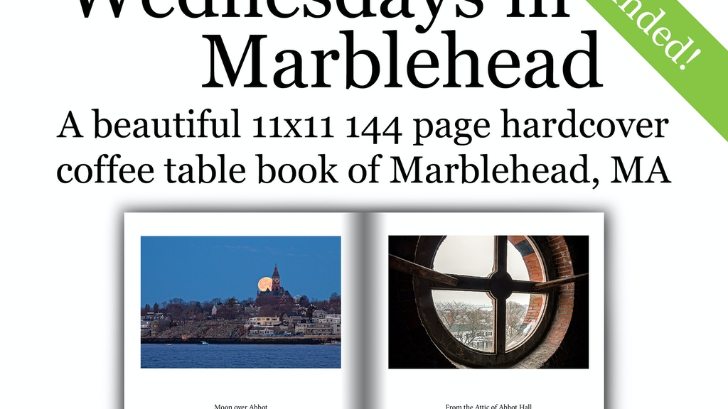 Wednesdays in Marblehead - A Book of Landscape Photographs project video thumbnail