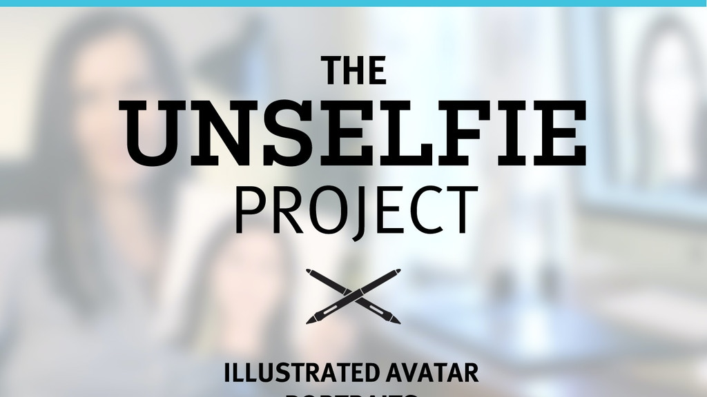 The UnSelfie Project: Illustrated avatar portraits project video thumbnail
