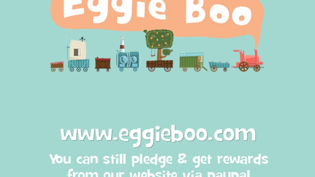 Eggie Boo - a children's book & animated film project video thumbnail