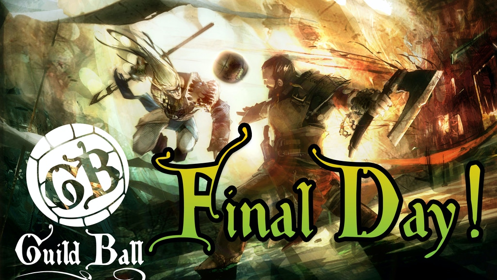 Guild Ball - A Tabletop Medieval Football Game project video thumbnail