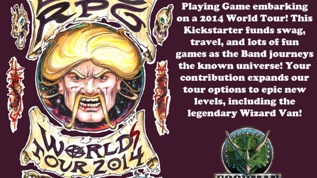 Dungeon Crawl Classics World Tour 2014 project video thumbnail