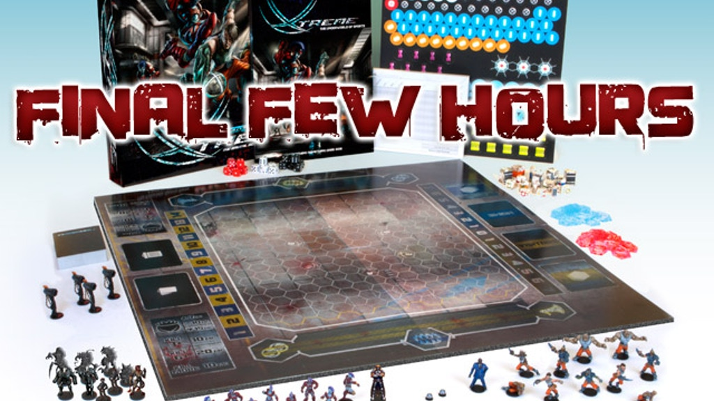 DreadBall Xtreme - The Brutal Sci-fi Sports Board Game project video thumbnail