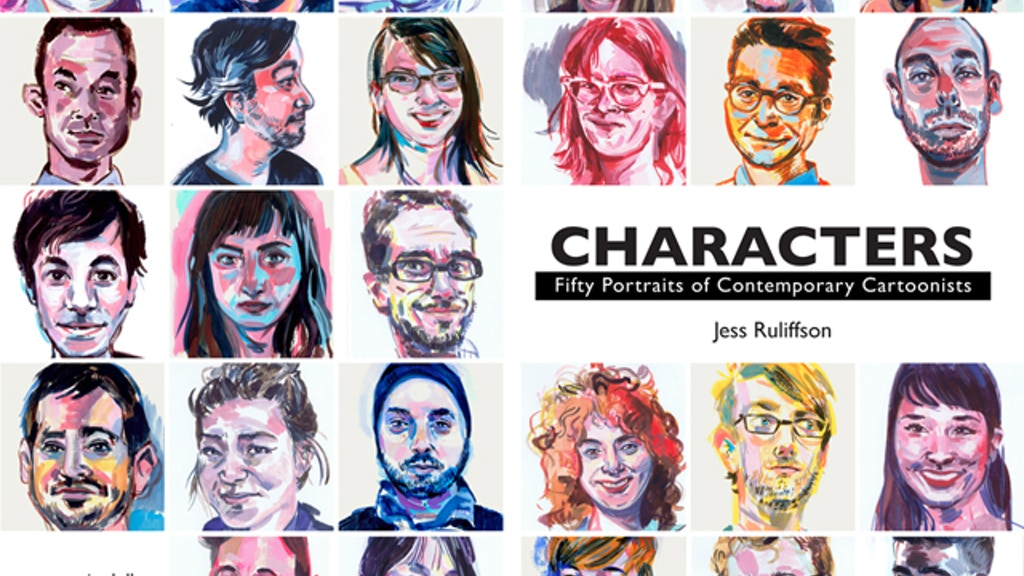 Characters: Fifty Portraits of Contemporary Cartoonists project video thumbnail