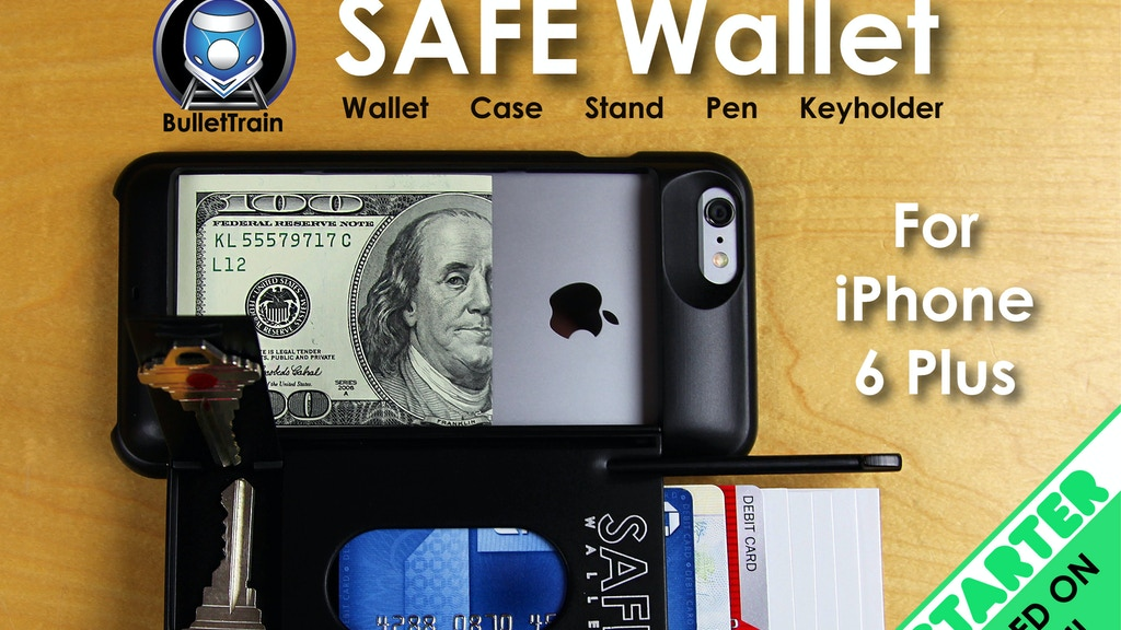 SAFE Wallet Case for iPhone 6 Plus project video thumbnail