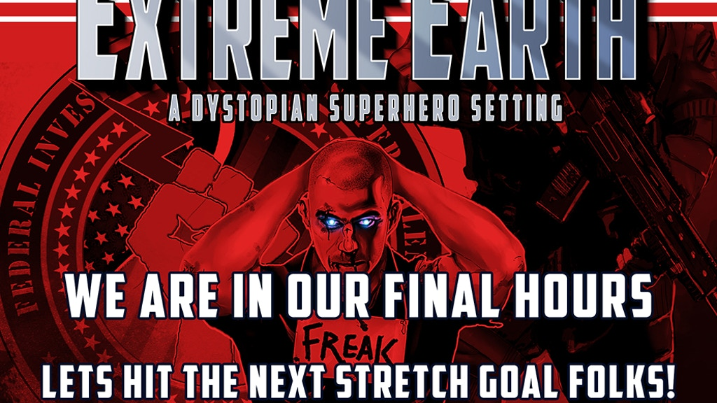 EXTREME EARTH: A Dystopian Superhero Campaign Setting project video thumbnail