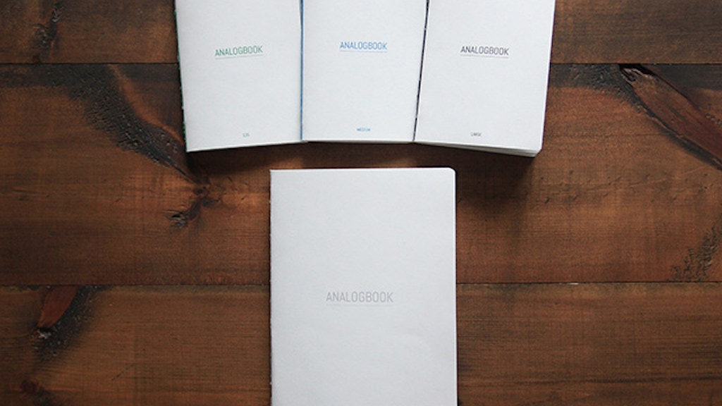ANALOGBOOK - The photographer's notebook project video thumbnail