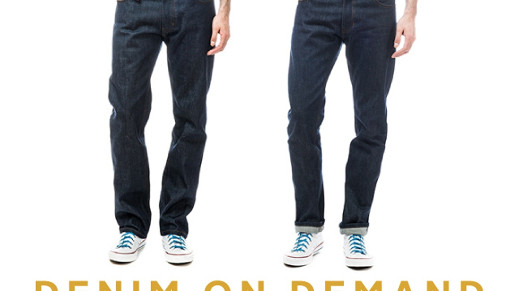 Denim on Demand: Premium jeans made to order for just $98! project video thumbnail