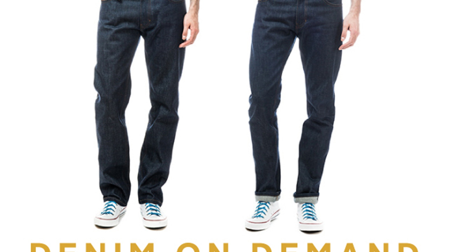 Denim on Demand: Premium jeans made to order for just $98! by Jake