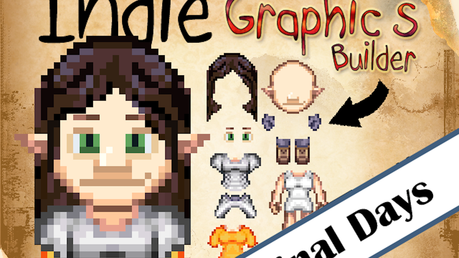 Indie Graphics Builder #2 (Create Sprites for Your Game) by
