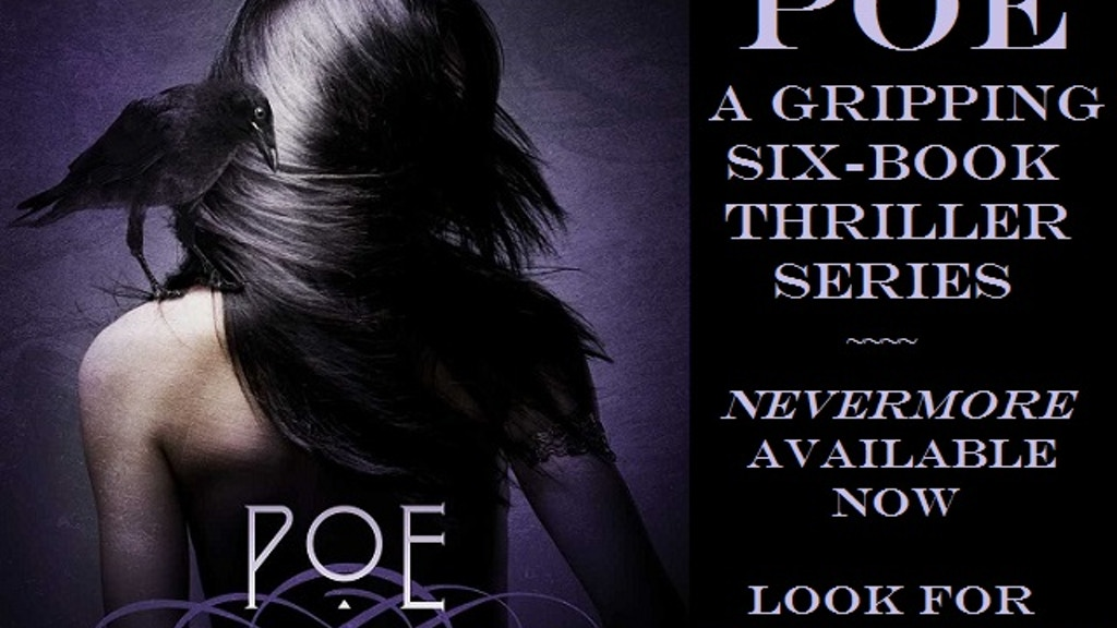 """Project image for """"Poe"""" - A Self-Published Pulse-Pounding Thriller Series"""