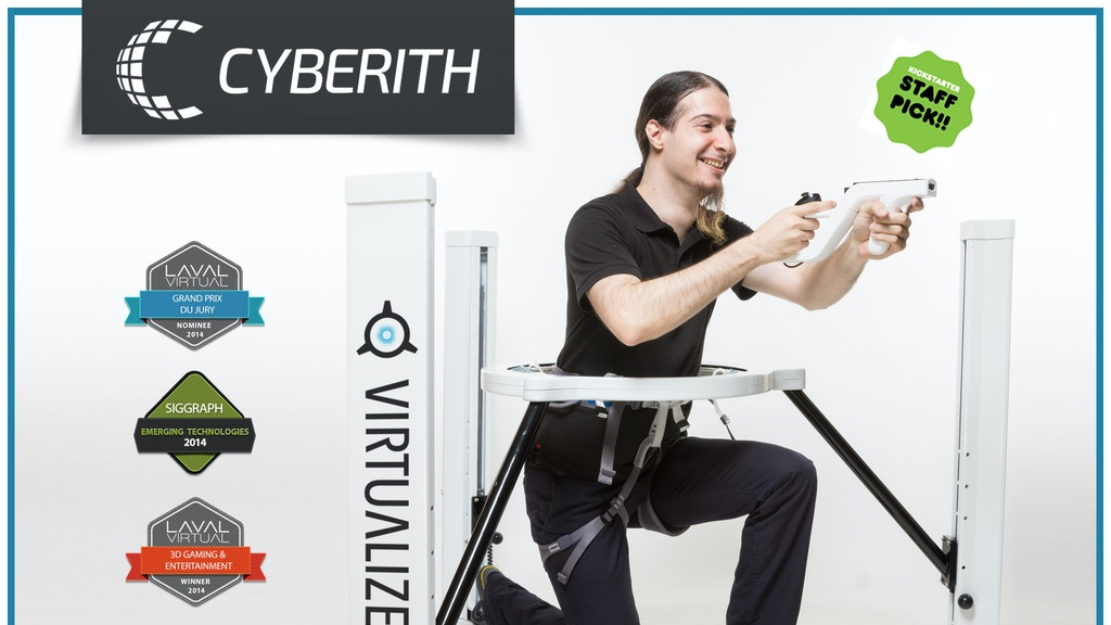 Cyberith Virtualizer - Immersive Virtual Reality Gaming project video thumbnail